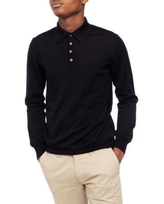 Oscar Jacobson Ruben Poloshirt L/S Black