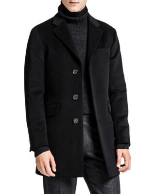 Oscar Jacobson Saks Coat Black