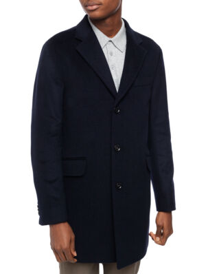 Oscar Jacobson Saks Coat Navy