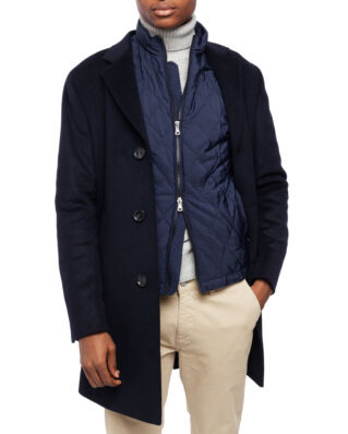 Oscar Jacobson Storvik Coat Navy