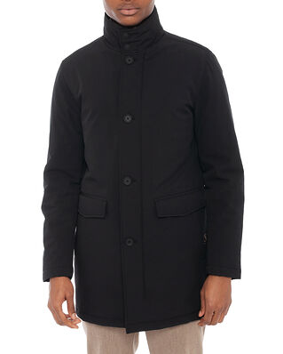 Oscar Jacobson Dorrance Padded Coat Black