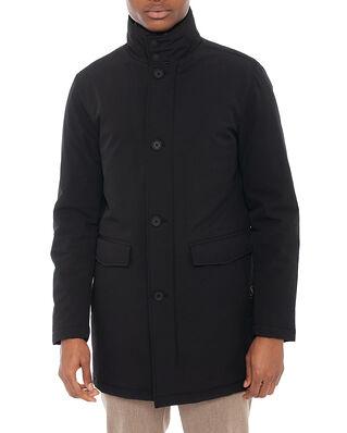 Oscar Jacobson Dorrance Padded Coat Black