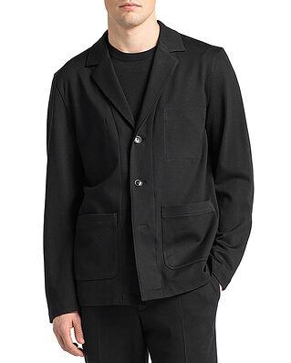 Oscar Jacobson Hector Shirt Jacket Black
