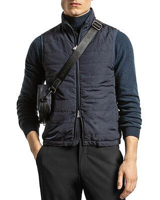 Oscar Jacobson Liner Evo Waistcoat Dark Blue