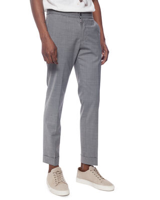 Oscar Jacobson Nolan Trousers Grey Melange