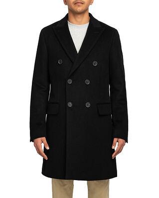Oscar Jacobson Sebastian Coat Black