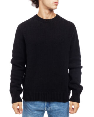 Our Legacy Base Roundneck Black Wool