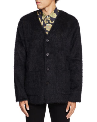 Our Legacy Cardigan Mohair Black