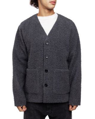 Our Legacy Cardigan Shaggy Grey