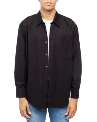Our Legacy Coco Shirt Black Compact Poplin