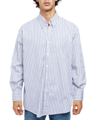 Our Legacy Less Borrowed Shirt Blue Stripe