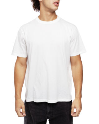 Our Legacy New Box T-Shirt White Clean Jersey