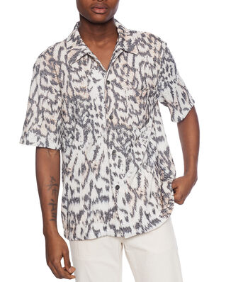 Our Legacy Box Shirt Shortsleeve Tiger Print