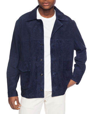 Our Legacy Coach Jacket Navy Suede