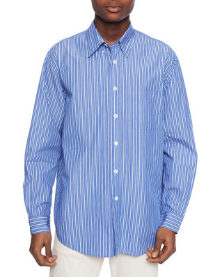 Our Legacy New Bd Shirt Blue Stripe Cotton
