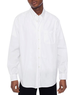 Our Legacy New Bd Shirt White Poplin