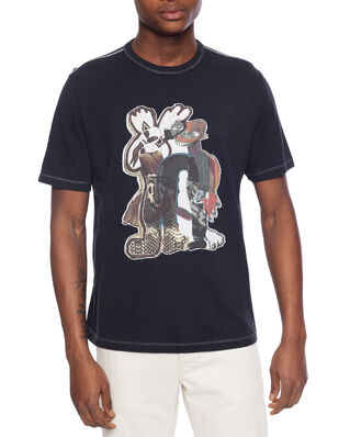 Our Legacy New Box T-Shirt Snake Queen Print