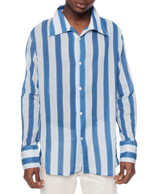Our Legacy Soul Shirt Blue Blur Stripe