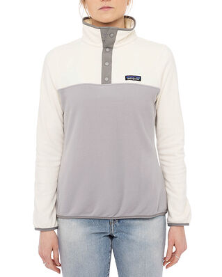 Patagonia W's Micro D Snap-T P/O Drifter Grey/ White Wash