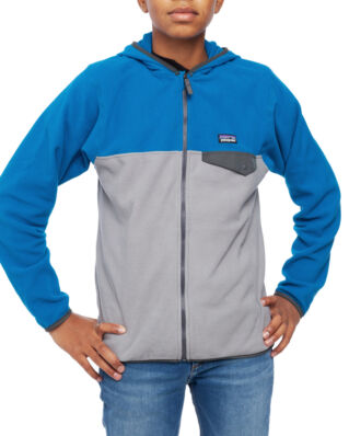 Patagonia Junior Boys Micro D Snap-T Jacket Feather Grey