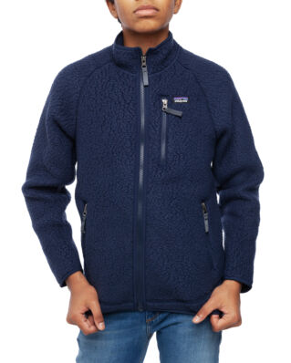 Patagonia Junior Boys Retro Pile Jkt New Navy