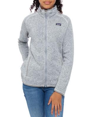 Patagonia Junior Girls Better Sweater Jkt Birch White