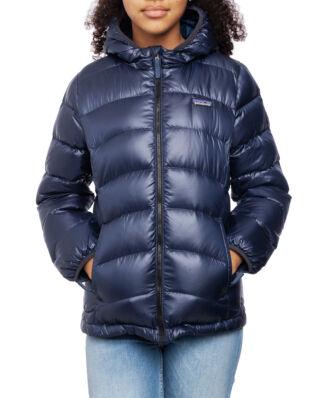Patagonia Junior Girl's Hi-Loft Down Sweater Hoody New Navy