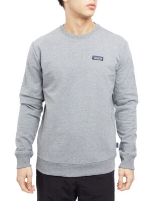 Patagonia M's P-6 Label Uprisal Crew Sweatshirt Gravel Heather