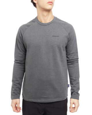 Patagonia M's P-6 Logo LW Crew Sweatshirt Forge Grey