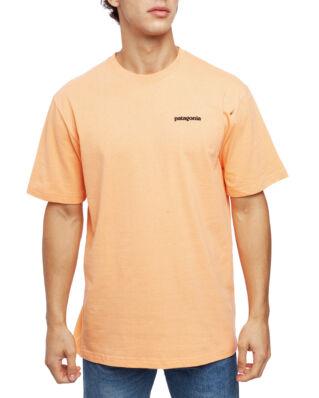 Patagonia M's P-6 Logo Responsibili-Tee Peach Sherbet