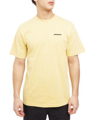 Patagonia M's P-6 Logo Responsibili-Tee Surfboard Yellow