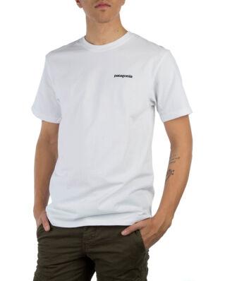 Patagonia M's P-6 Logo Responsibili Tee White