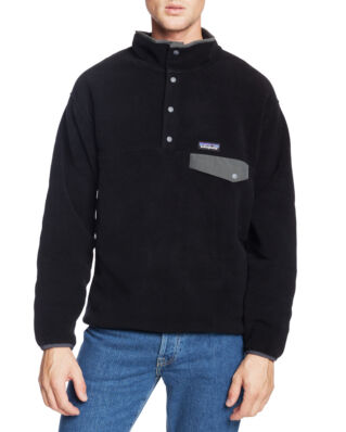 Patagonia M's Synchilla Snap-T Pull Over Black/Forge Grey