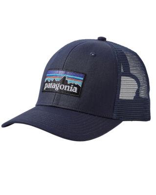 Patagonia P-6 Logo Trucker Hat Navy Blue/Navy Blue