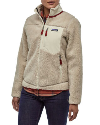 Patagonia W's Classic Retro-X Jkt Natural w/Oyster White