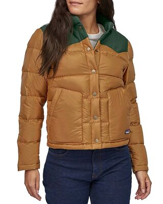 Patagonia Bivy Jacket Nest Brown w/Sublime Green