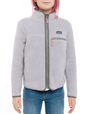 Patagonia Girls' Retro Pile Jkt Salt Grey