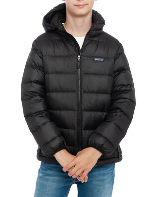 Patagonia Junior Boys' Hi-Loft Down Sweater Hoody Black