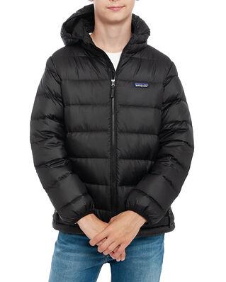 Patagonia Junior Boys' Hi-Loft Down Sweater Hoody Black