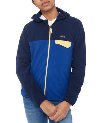 Patagonia Junior Boys' Micro D Snap-T Jkt Superior Blue