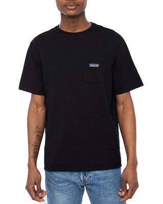 Patagonia M's P-6 Label Pocket Responsibilite -Tee Black