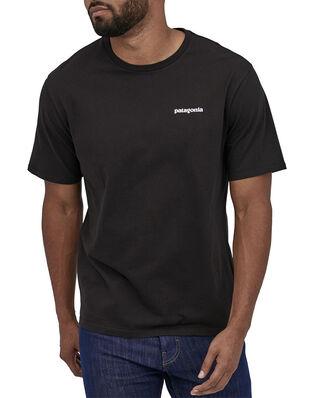 Patagonia M's P-6 Logo Organic T-Shirt Black