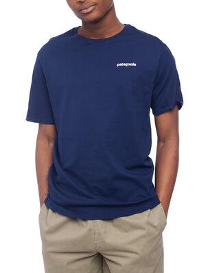 Patagonia M's P-6 Logo Organic T-Shirt Classic Navy