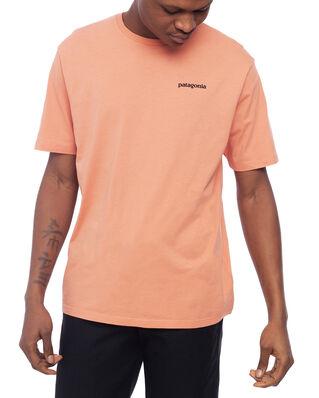 Patagonia M's P-6 Logo Organic T-Shirt Mellow Melon