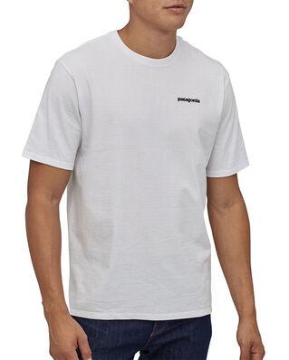Patagonia M's P-6 Logo Responsibili-Tee White