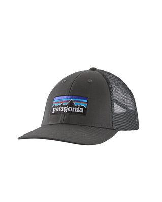 Patagonia P-6 Logo LoPro Trucker Hat Forge Grey