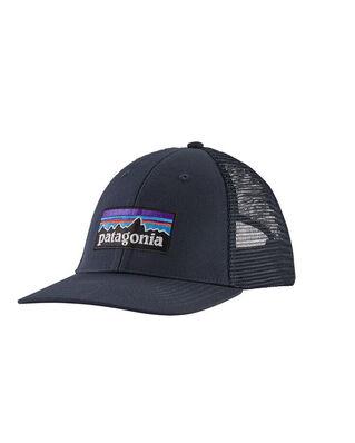 Patagonia P-6 Logo LoPro Trucker Hat Navy Blue