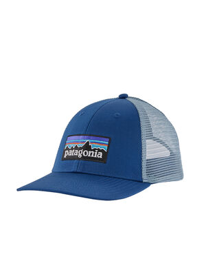 Patagonia P-6 Logo LoPro Trucker Hat Superior Blue