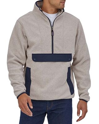 Patagonia Synch Anorak Oatmeal Heather