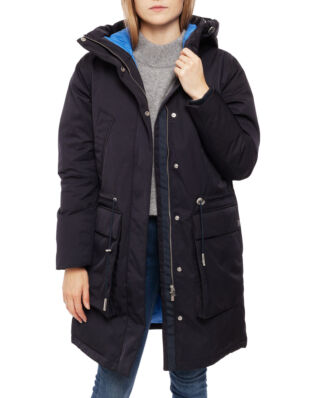 Peak Performance Emma Parka Women Salute Blue